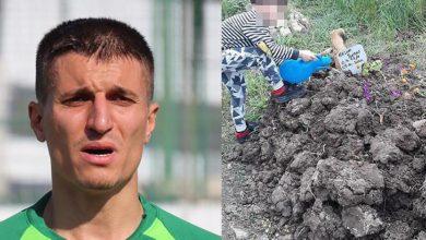 Eski Süper Lig futbolcusu Cevher Toktaş hastanede oğlunu boğarak