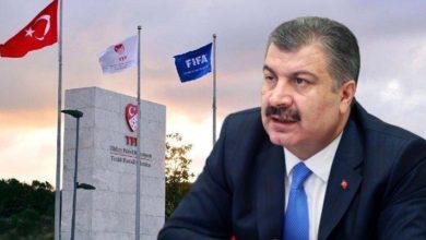Fahrettin Koca: Bundan sonraki mesuliyet Türkiye Futbol Federasyonu 'nun