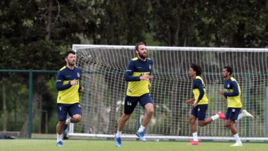 Fenerbahçe 'den zorlama ve sağlamlık çalışması