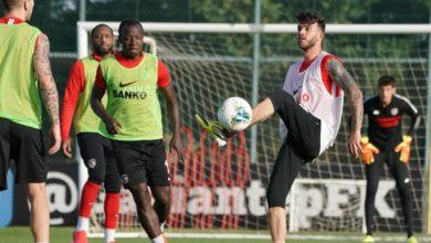 Gaziantep FK antrenman görüntülerini paylaştı