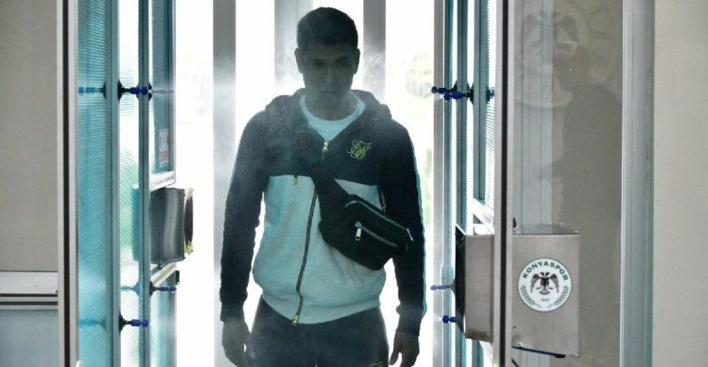 Konyaspor 'dan tesislere dezenfekte kabini