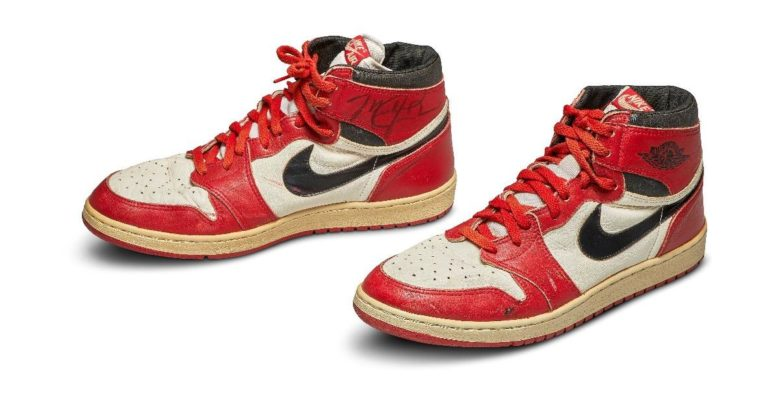 Michael Jordan 'ın ilk Air Jordan 'ı açık arttırmada