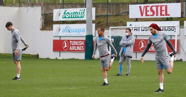 Trabzonspor 45 gün aradan daha sonra antrenmana çıktı