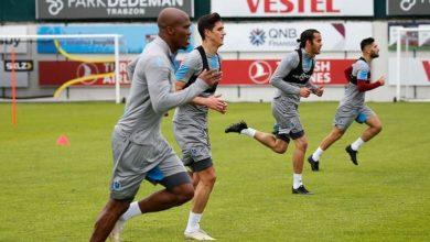 Trabzonspor, sağlamlık testinden geçti