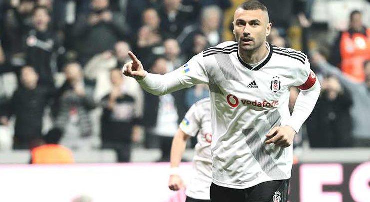 Beşiktaş'ta Burak Yılmaz şov!