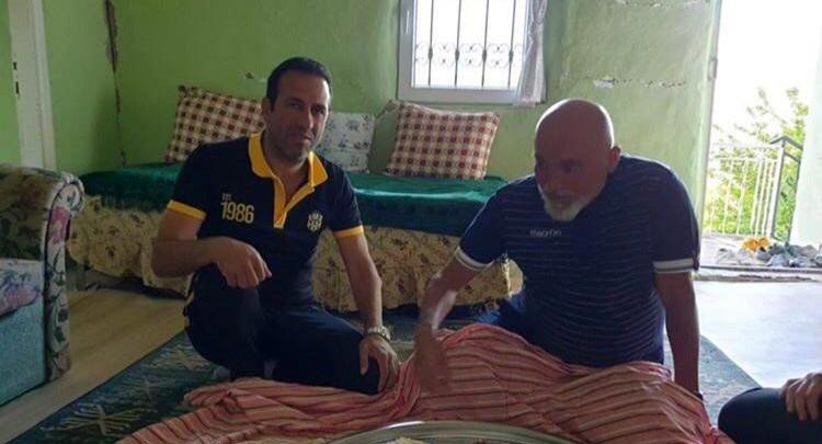 Hikmet Karaman, Başkan Gevrek 'in baba ocağına hayran kaldı