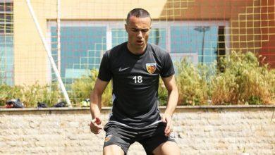 Kayserispor 'da sağ bek Zoran 'a emanet