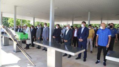 Malatyaspor Başkanı Adil Gevrek 'in babası toprağa verildi